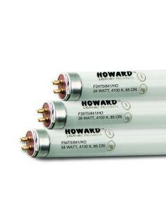 Howard Lighting F54T5/850/HO 54W T5 High Output Linear Fluorescent Lamp 850 5000K