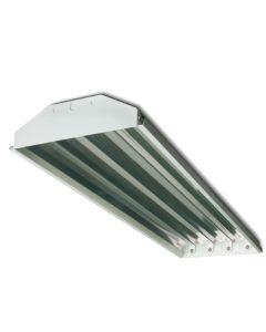 Howard Lighting HFA2 4 Lamp T5 HO Linear Fluorescent High Bay Lighting Fixture Enhanced 95% Reflector HFA2E454APSMV000000I