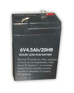 Howard Lighting HL0202-BATT 6V Replacement Battery for Exit Sign