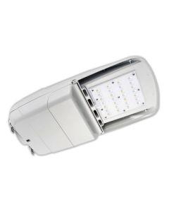 Howard Lighting L401L65W40KT310GRM DLC Qualified 65 Watt LED Street and Area Light Fixture Dimmable 4000K 120-277V