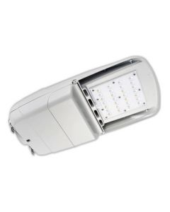 Howard Lighting L402L100W40KT310GRM DLC Qualified 100 Watt LED Street and Area Light Fixture Dimmable 4000K 120-277V