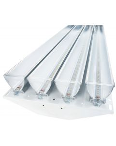 Linmore LL-HPH-50K-3 High Performance Dimmable LED High Bay Fixture 3 ParaBars