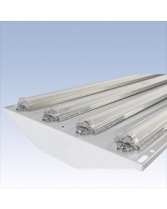 Linmore LED LL-HPL-50K-4-176-6 176 Wat LED High Performance Dimmable Low Bay Fixture Four URS Light Bars