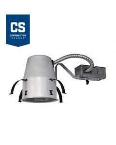 Juno Lighting IC1R LEDT24  4-Inch Contractor Select IC rated Remodel Recessed Housing for Juno Basic Retrofits