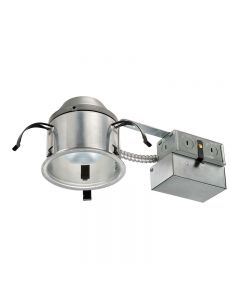 Juno Lighting IC1RLED G4 06LM 30K 90CRI 120 FRPC 8.6 Watts 4 Inch IC Rated Remodel Recessed Housing