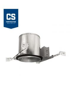 Juno Lighting IC23 LEDT24 6-Inch IC Rated New Construction Recessed Housing for Juno Basic Retrofits, Dimmable, 120V
