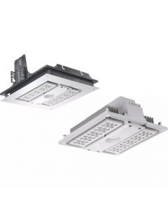 Main Image CREE SFT-304 LED Recessed Soffit Downlight Fixture 5000K (Product Configurator)