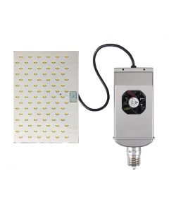 Light Efficient Design LED-8091M DLC Listed 320 Watt LED Shoebox and Wall Pack Retrofit Lamp - Replaces up to 1000W HID