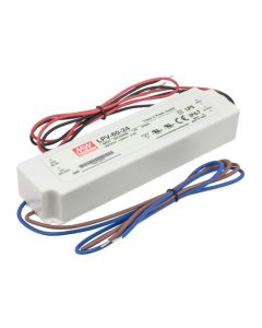 American Lighting LED-DR60 Class 2 Rated 60 Watt Constant Voltage Hardwire Driver 100-240V AC