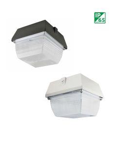 NaturaLED LED-FXCCM40/WH 40 Watt LED CMM Ceiling Canopy Fixture White 120-277V - 175W HID Equivalent