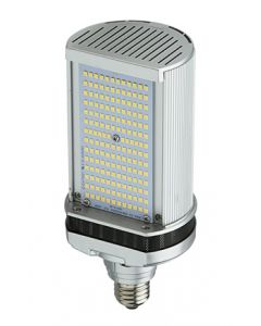 Light Efficient Design LED-8088E30-G4 50 Watt Shoe Box Roadway Wall Pack Retrofit Lamp E26 Base 3000K