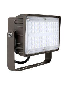 Liron Lighting LEDMFL60W 60 Watt LED Square Flood Light Fixture 120-277V - 150W HID Equivalent