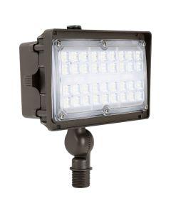 Liron Lighting LEDSFL27W 27 Watt LED Square Flood Light Fixture 120-277V - 100W HID Equivalent