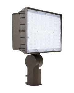 Liron Lighting LEDXLFL200W 200 Watt LED Square Flood Light Fixture 120-277V - 400W HID Equivalent