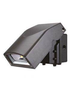 Liron Lighting LEDACUWP40W DLC Qualified 40 Watt Architectural Adjustable Cut Off LED Wallpack Fixture 110-277V