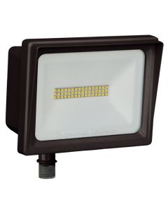 Lithonia Lighting QTE LED P3 DLC Listed 66 Watt Contractor Select LED Floodlight Light Fixture 120V Replaces 250W Metal Halide or 500W Halogen