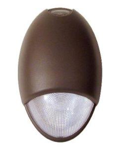 Mule Lighting Mule Lighting MAKO-LED LED Wet Location Emergency Light w/ 2 6W 6V Lamps