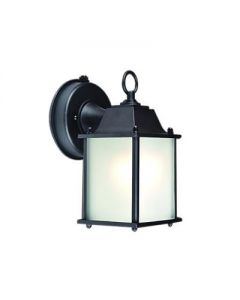 Maxlite ML4LE109SPLBK2 101309 Outdoor Traditional Small Lantern Fixture with 9W LED Lamp 120V 2700K