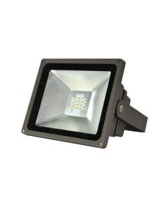 Maxlite MLFL45LED50MS 74422 45 Watt LED Small Flood Light Yoke Mount Fixture with Sensor 120-277V 5000K