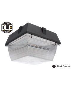 Image NaturaLED LED-FXCCM60/50K/DB DLC Listed 60 Watt Canopy Ceiling Mount Fixture Bronze 120-277V