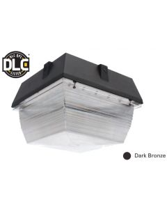 Image NaturaLED LED-FXCCM40/50K/DB 40 Watt Canopy Fixture DLC Listed 120-277V 5000K