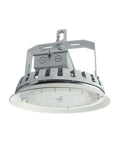 NaturaLED LED-FX16HBR162/90 DLC Premium Listed 162 Watt LED Round High Bay Lighting Fixture Dimmable 120-277V