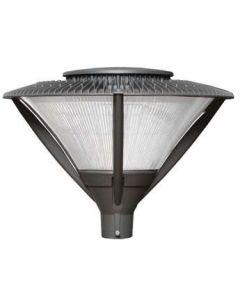 ATG Electronics PT81-176-50-C-B 176 Watt Orbit Post Top Enclosed Area Light Fixture