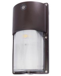 Jarvis Lights WPS-50-R-BRZ 14 Watt Small Round LED Wallpack Fixture Bronze 50W HID Equivalent