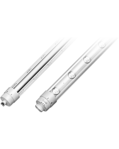 RAB Lighting T8-43-108P2S-865-DE-BYP 108 Inch 9 Ft 43 Watt LED T8 Sign Retrofit Lamp 6500K