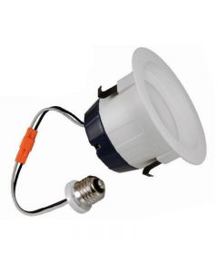 Sylvania 74287 LEDRT4600930FL80RP Energy Star Rated 9 Watt LED RT4 Recessed Downlight Retrofit Kit 90CRI Dimmable - Retail Pack