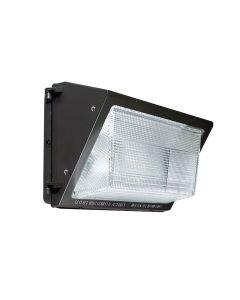 Sylvania WALPAK2N/075UNV DLC Listed 75 Watt LED Wall Pack Non-Cutoff Light Fixture 120-277V 250W HPS/MH Equivalent