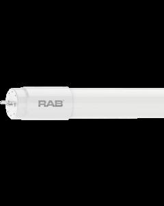 RAB Lighting T8-15-48G 15 Watt 4 Ft Ballast Bypass Single-Ended Linear Tube Lamp 32W Equivalent