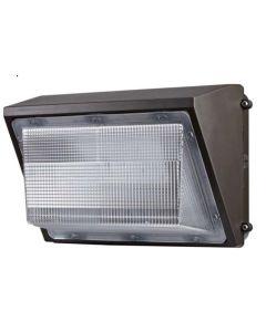 Louvers International 45 Watt DLC Listed LED Standard Wallpack Light Fixture