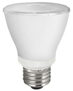 TCP Lighting LED8P20D24KNFL 8 Watt 8W PAR20 Dimmable Narrow Flood Lamp 2400K