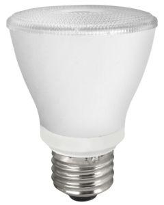TCP Lighting LED8P20D41KNFL 8 Watt 8W PAR20 Dimmable Narrow Flood Lamp 4100K