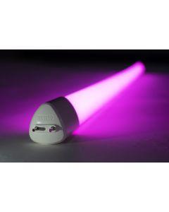 Toggled E416-G1310 16 Watt Focused Spectrum Gro LED Horticulture Tube Wide Angle 120-277V