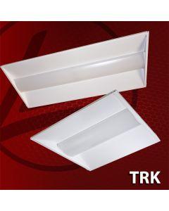 LSI Industries TRK14 25-Watt 1x4 LED Troffer Retrofit Kit 120-277V Dimmable