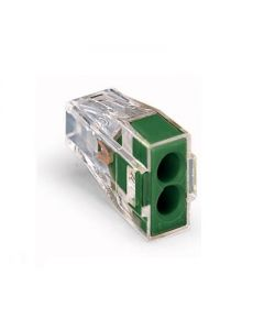 WAGO 773-112 WALL-NUTS 2 Conductor Push-Wire Green Cover Connector for Junction Boxes - 100 PCS