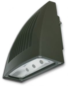 ILP WPLP-50WLED-UNIV-4000K 50 Watt LED Large Slim Profile Wall Pack Fixture Replaces 175-250W Metal Halide