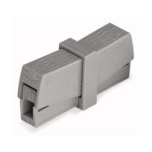 Wago 224-201 Hybrid Push-in and Lever Actuated Service Connector 224 Series - 100 PCS
