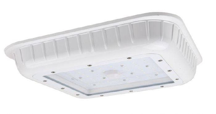 NaturaLED LED-FXGSC45/50K/WH 45 Watt LED Gas Station Canopy Fixture DLC Listed