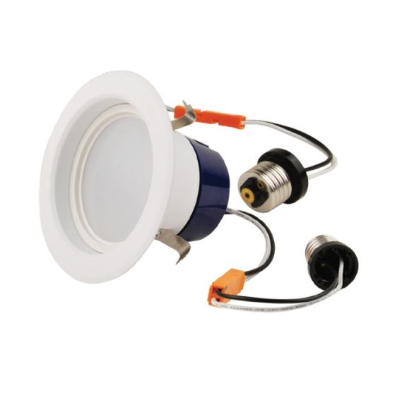 NaturaLED LED4RL-56L30K 9 Watt 4 Inch LED Recessed Can Downlight Retrofit Kit Dimmable Energy Star Qualified 3000K