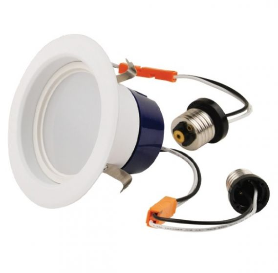 NaturaLED LED4RL-58L927 9 Watt 4 Inch LED Recessed Can Downlight Retrofit Kit Dimmable