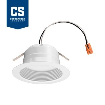 Lithonia Lighting 4BEMW LED 30K 90CRI M6 4 Inch 10 Watt Recessed Downlight Dimmable 65 Watt Equivalent Title 24 Compliant