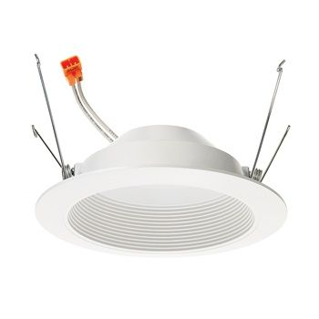 Juno Lighting 5RLD-G3-07LM 5-Inch LED Round Baffle Retrofit Trim Dimmable 65W Incandescent Equivalent