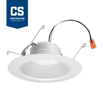 Lithonia Lighting 65BEMW LED 40K 90CRI M6 5 / 6 Inch Recessed Downlight Dimmable 65 Watt Equivalent Title 24 Compliant