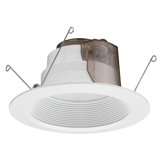 Lithonia Lighting 6BPMW HL LED 27K 90CRI M6 16.7 Watt 6 inch White LED Recessed Baffle Downlight Retrofit Module 2700K