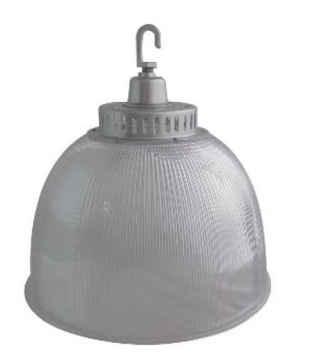 Light Efficient Design LED-9101M 150 Watt LED High Bay Fixture HID Retrofit Ready 16 Inch Polycarbonate Globe