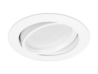 American Lighting AD4S-30-WH Energy Star Rated LED Advantage 4-Inch Swivel Downlight Retrofit 120V 3000K Dimmable