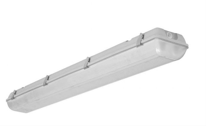Image 1 Louvers International ADV4-2T8-20 Advantage 4 Ft T8 2 Lamp Vaportight Fixture NSF Approved IP66 Rated
